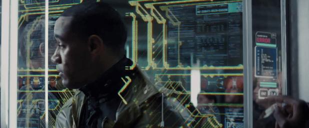 Control Panel UI - Total Recall (2012)