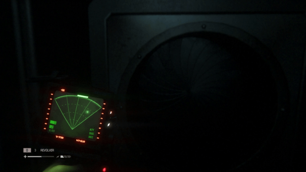 Tracking UI - Alien: Isolation