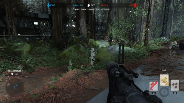 Reticle UI - Star Wars Battlefront