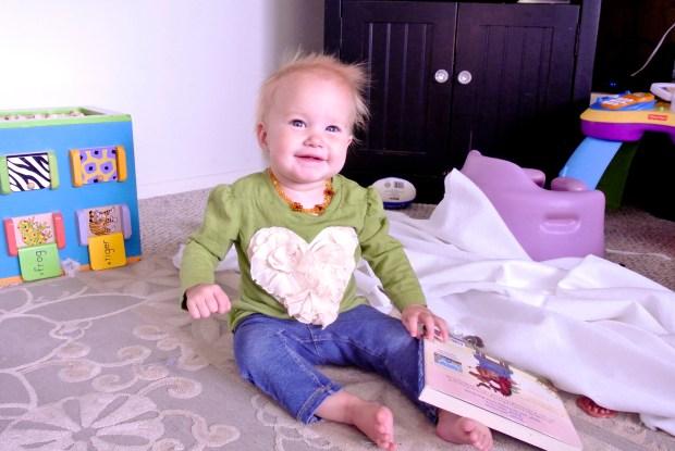 smiley hearts baby