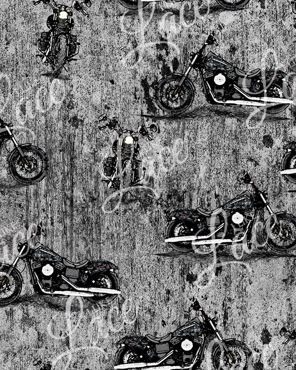 grungy motorcycles