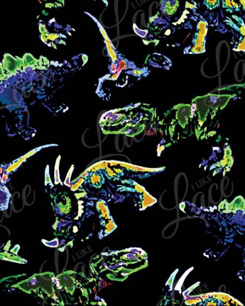 neon dinos