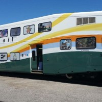 SunRail Transforms Coach Car Into Art Gallery