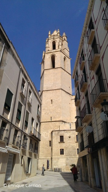 Bell Tower at Sant Pere church