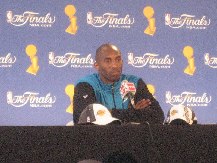 Kobe Bryant press conference