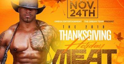 meatloaf flier for Friendsgiving and meatloaf thanksgiving