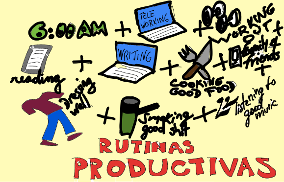 coronavirus chronicles rutinas productivas