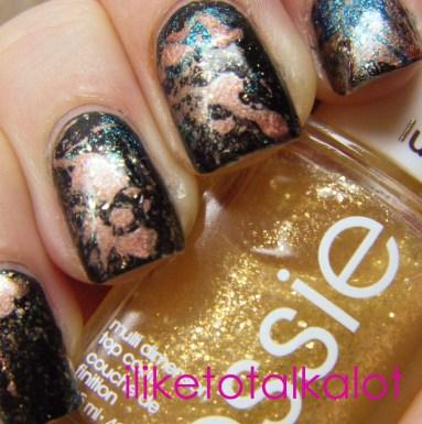 splatter manicure iliketotalkalot 4