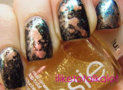 splatter manicure iliketotalkalot 5