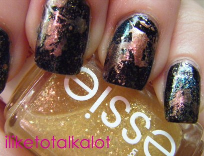 splatter manicure iliketotalkalot 6