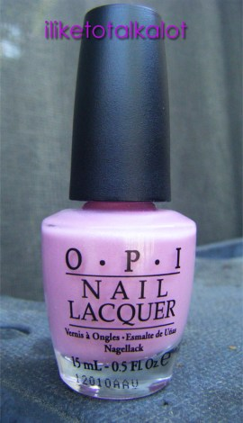 OPI Pedal Faster Suzi Holland Collection Bottle