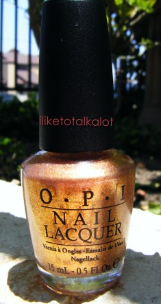 OPi Pros and Cons iliketotalkaot rose champagne manicure