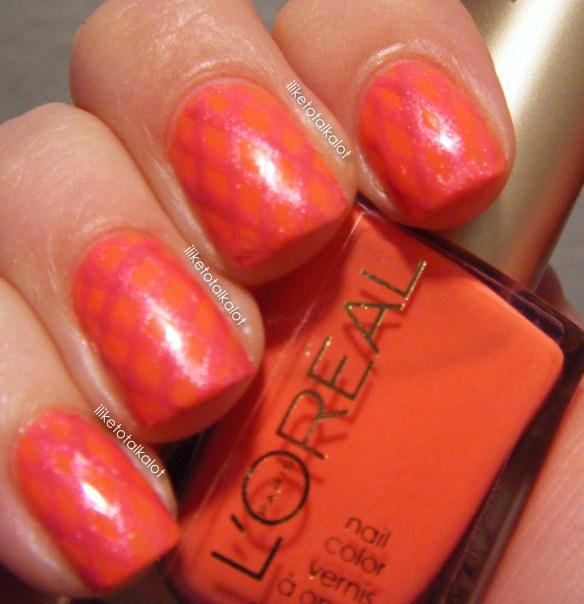loreal tangerine crush summer fishnets iliketotalkalot 4