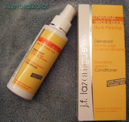 shea butter leave in conditioner lazartigue iliketotalkalot
