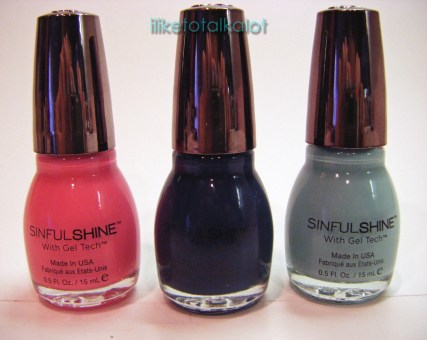 sinfulshine sinful colors gel tech2 sunvoxbox iliketotalkalot