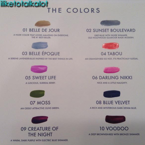Habit Cosmetics colors iliketotalkalot