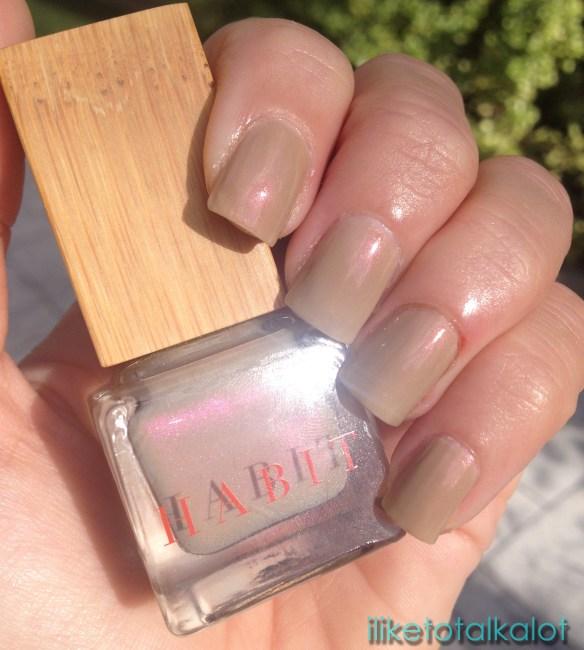 habit cosmetics nail polish belle de jour  iliketotalkalot