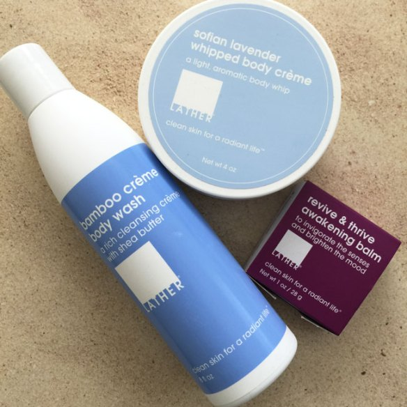 lather products for the new mom