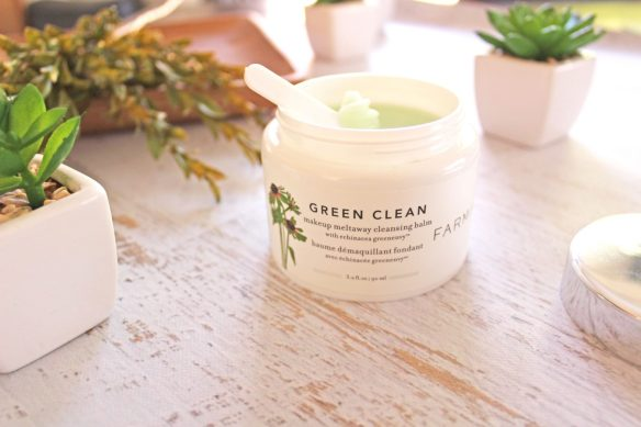 farmacy green clean makeup meltaway cleansing balm review by iliketotalkblog