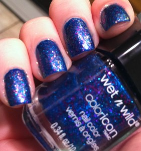 wet n wild believe me its real over midnight blue