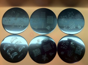 image plates for nail art stamping
