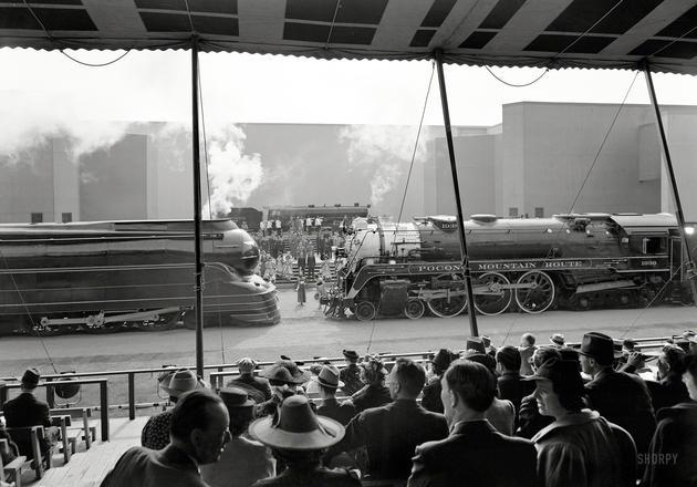 New York Fair Locomotives