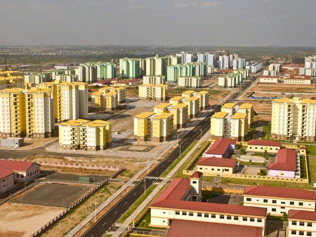 Empty city in Angola, Kimbala