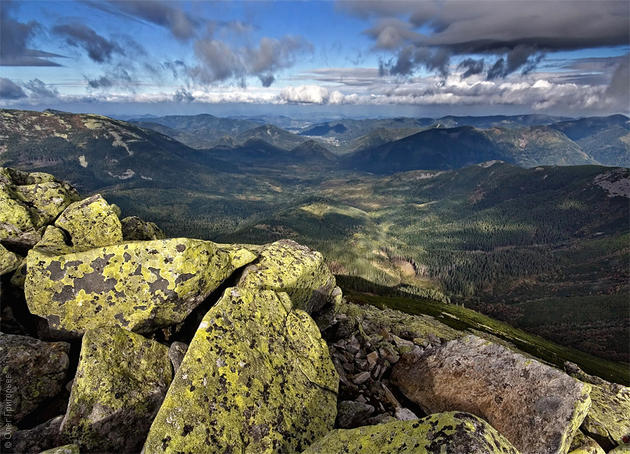 Central Gorgans (Центральные Горганы), Carpathian Mountains, Ukraine