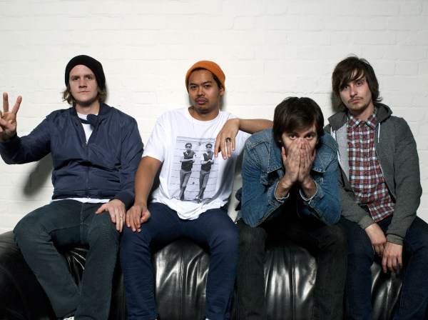 The Temper Trap.  A Photoshoot, Somewhere