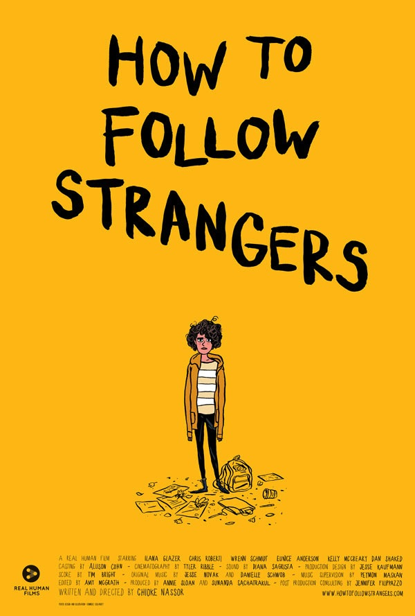 how to follow stragers