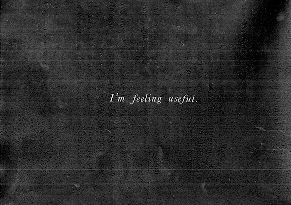 i'm feeling useful