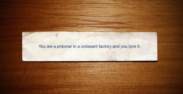 you are a prisoner