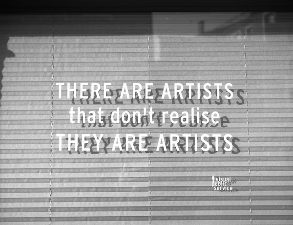 there are artists