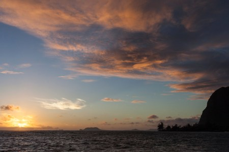 The view towards Kaneohe