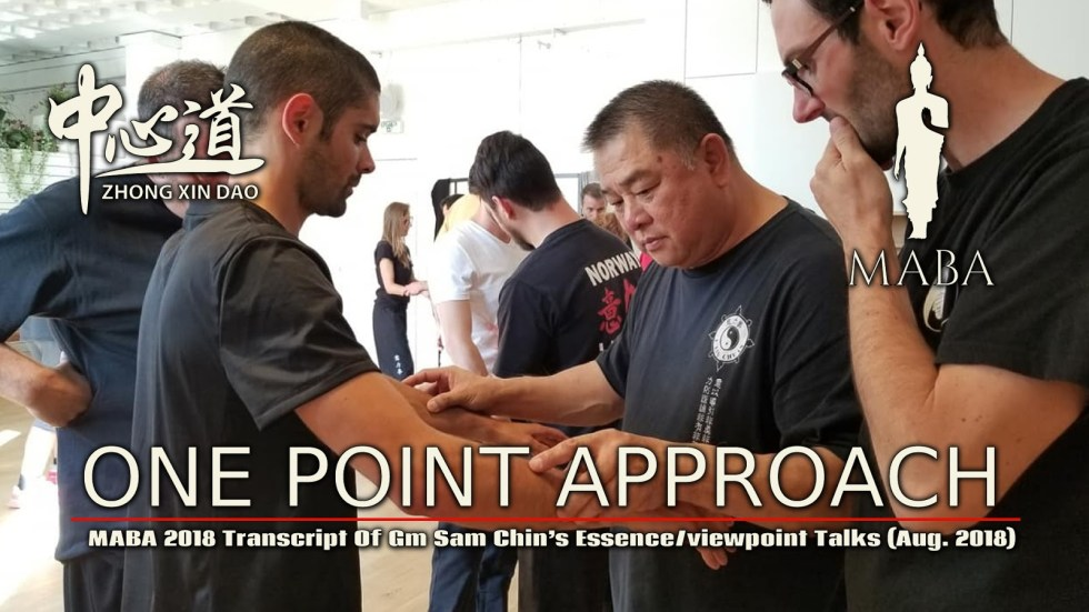 GM Sam Chin One Point Approach