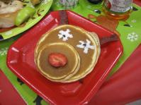 How cute are the Reindeer Pancakes! Made by one of the awesome moms!