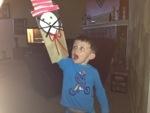 Jace loves puppet shows!