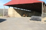 Feed lot Hay Barn