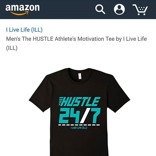HUSTLE 24/7.https://www.amazon.com/dp/B01MTQNHCB@amazon @amazonfashion #hustle #work #determination #gym #athlete #motivation #tee #men #tshirt #24hourfitness #7daysaweek #black #fashion #color #vibrant #online #shop #amazon #entrepreneur #art #business #workoutmotivation #prime #livelifetothefullest