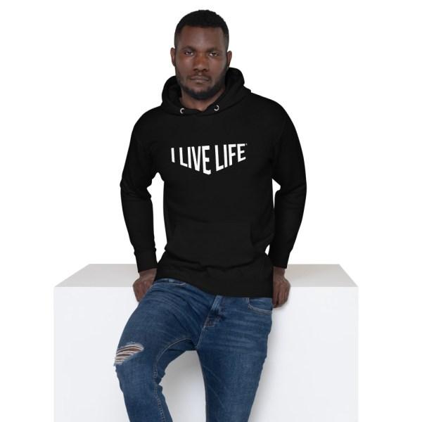 I Live Life Strength Premium hoodie on ilivelifeill.com