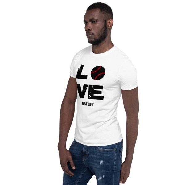Love Baseball Tshirt on ilivelifeill.com