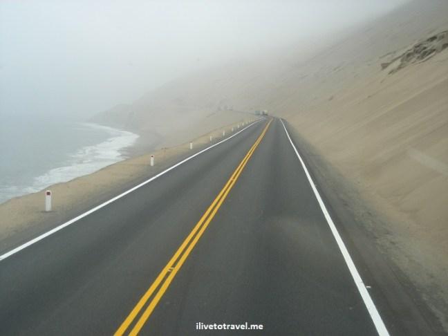 Lma Huaraz road travel Pacific adventure bus