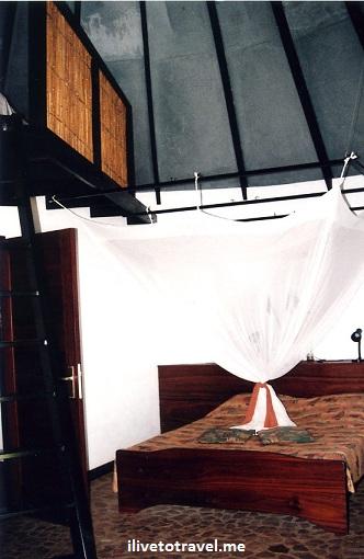 Speke Bay Lodge room by Lake Victoria in Tanzania