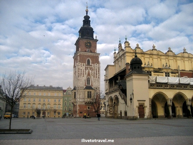 Krakow, main square, Poland, travel, photo, Canon EOS Rebel
