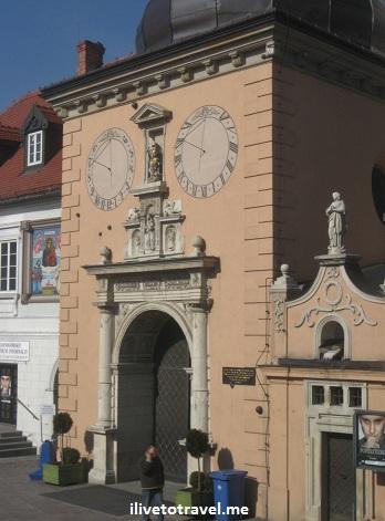 Jasna Gora building in Czestochowa, Poland