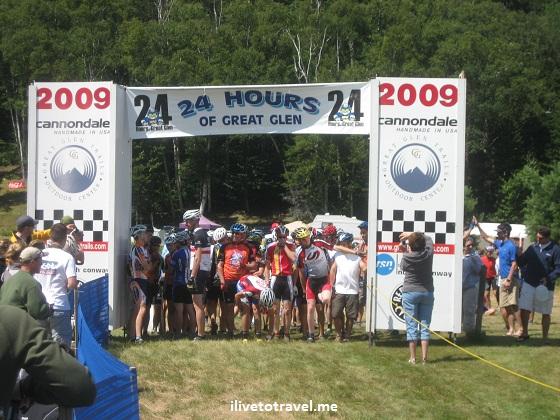24 Hours of Great Glen mountain biking race in New Hampshire
