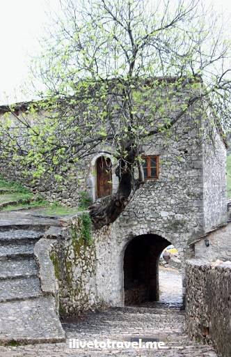 Bosnia, town, stone building, Počitelj, travel, explore, photo