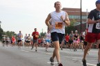 Runners hit the pavement at the Peachtree Road Race in Atlanta