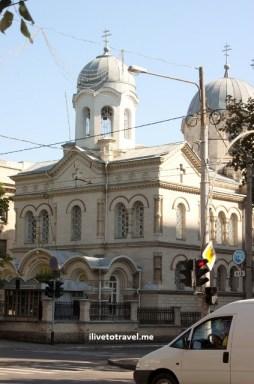 Church in Chisinau, Moldova