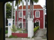 Architecture in Punda in Willemstad, Curacao